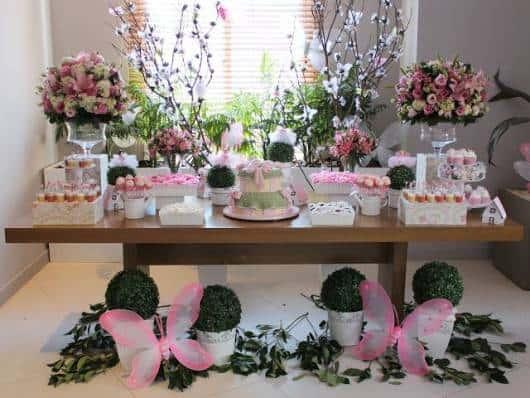 Festa jardim das borboletas 30 inspira es for Mesas y sillas para 15 anos