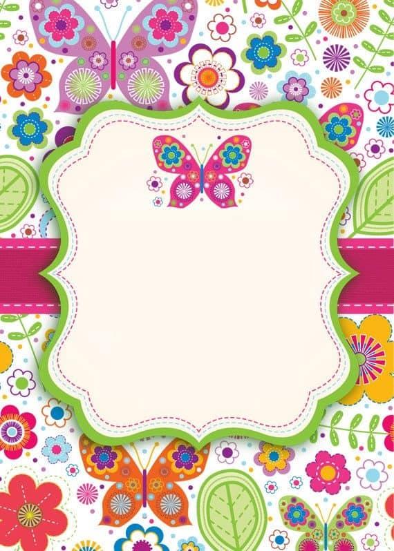 Festa jardim das borboletas 30 inspira es for Mural de flores y mariposas