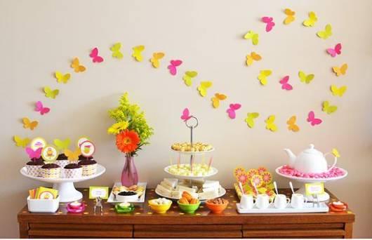 Resultado de imagem para decoração de festa  aniversario feminina cores pasteis