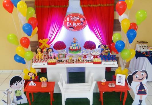 decoracao kit festa infantil