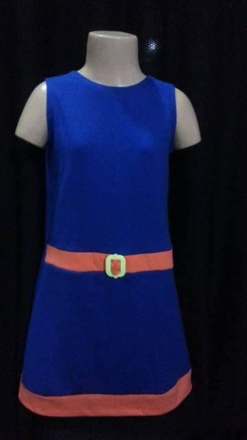 vestido simples aniversariante