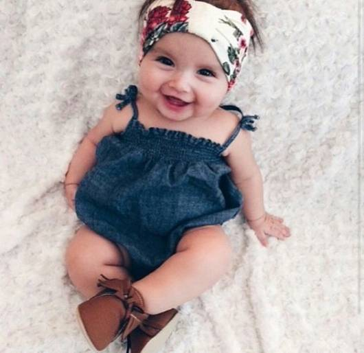 turbante bebê