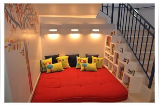 decoração vão da escada