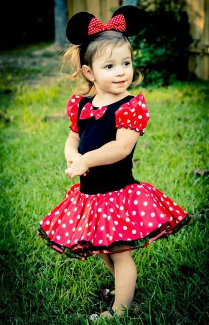 Fantasia Da Minnie Infantil 35 Modelos E Passo A Passo