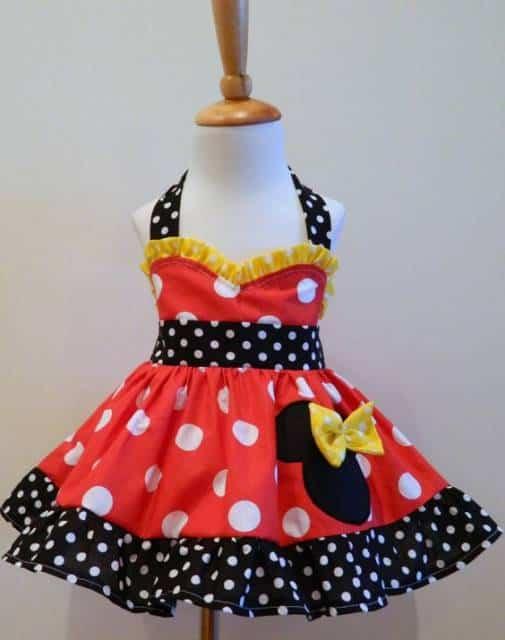 vestido para meninas