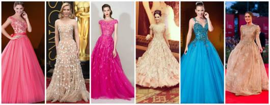 modelos vestido longo