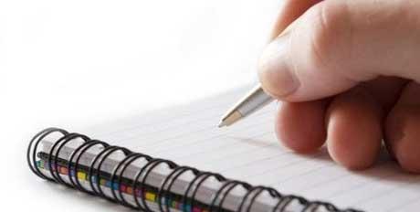 anotações