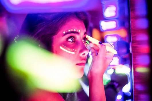 neon facial