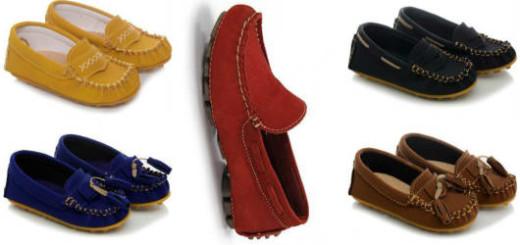 modelos sapato infantil