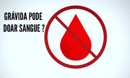 quem não pode doar sangue