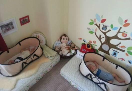 decoração quarto gêmeos