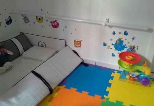 quarto de bebê sem berço