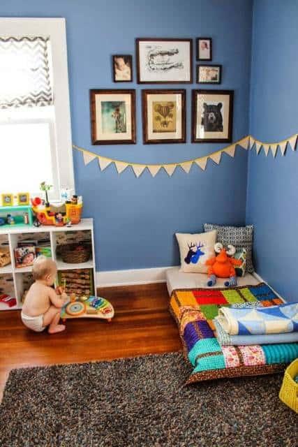 quarto de menino bebê