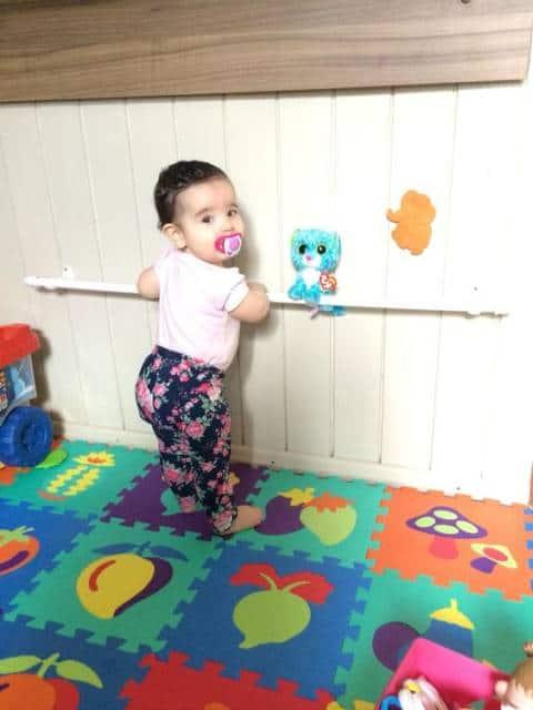quarto infantil para estimulação