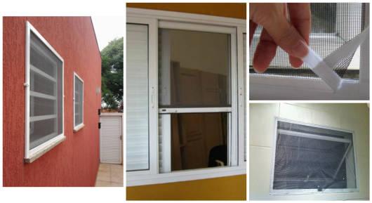 mosquiteiro janelas