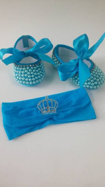 sapatinho azul