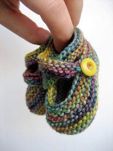 sapatinho lã