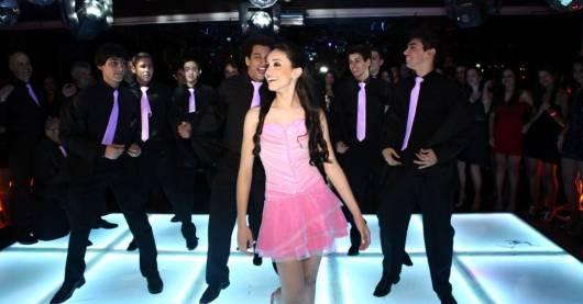 vestido curto rosa 15 anos