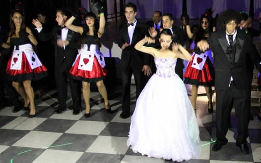 vestido branco debutante