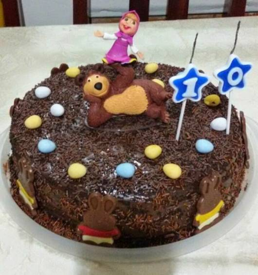 Chocolate Bear Cake