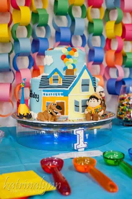 bolo com casa