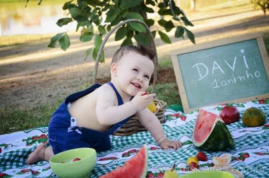 fotos menino 1 ano