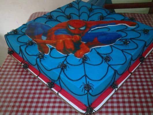 ideia decoração bolo masculino