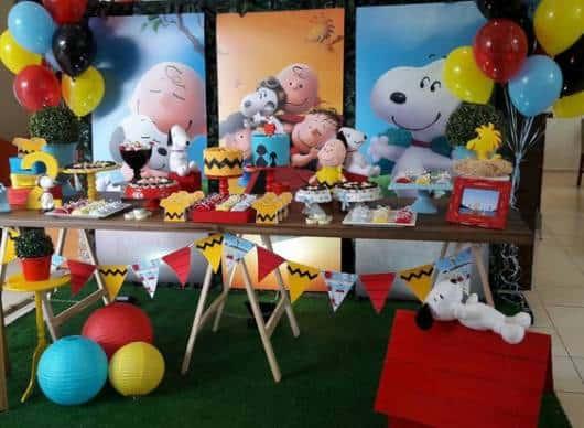 mesa cavalete festa
