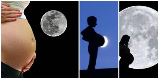 influência da lua parto