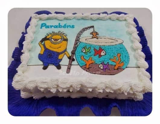 papel crepom bolo