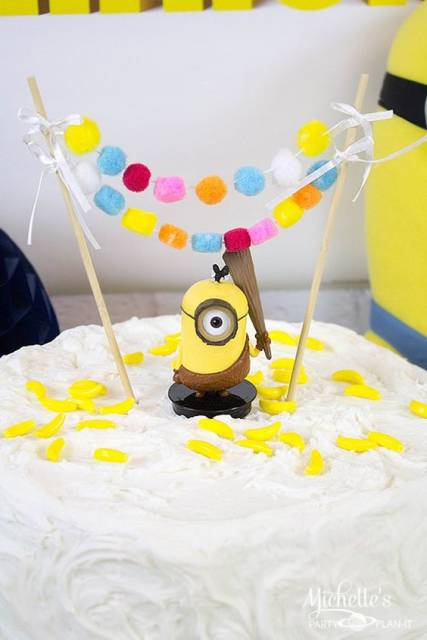 simples com topo de bolo