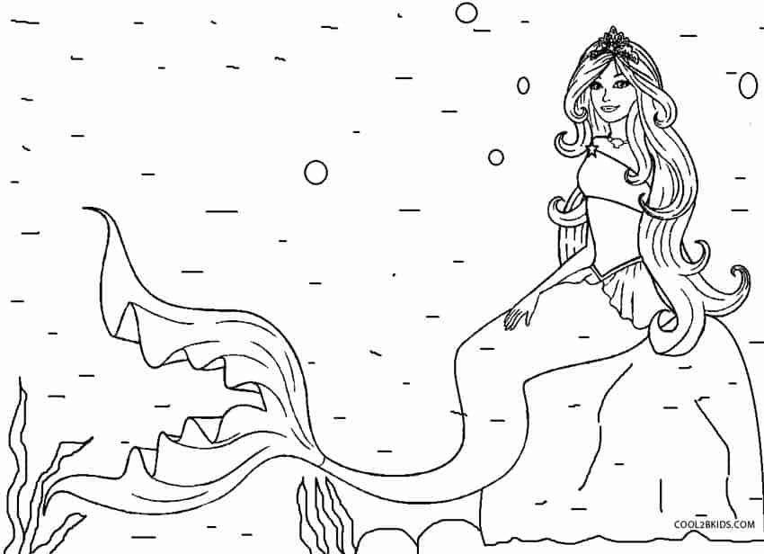 sereia no mar