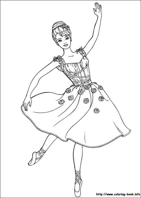 barbie dançando