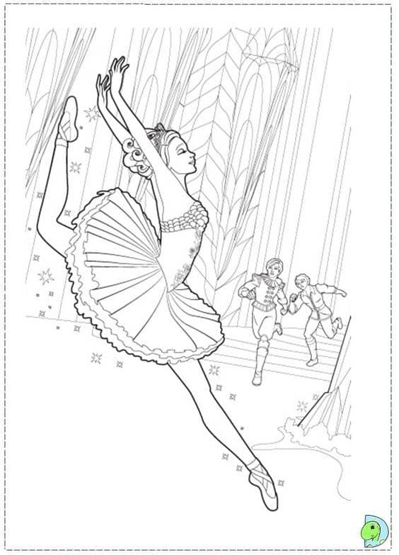 barbie dançando ballet