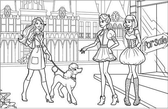 desenhos da barbie para colorir 40 opções para imprimir