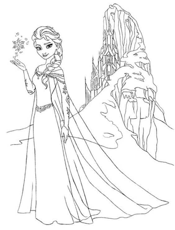 elsa e castelo