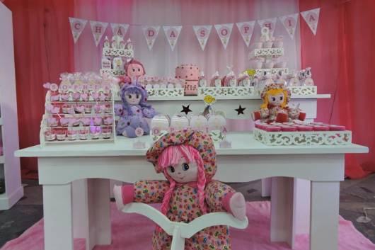 decoração bonecas