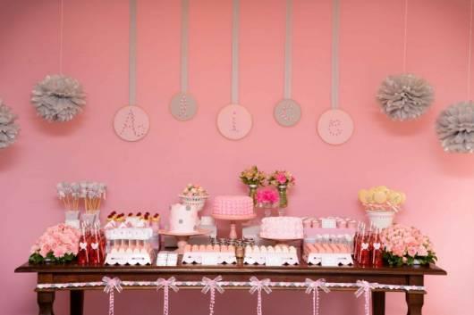 decoração rosa em casa