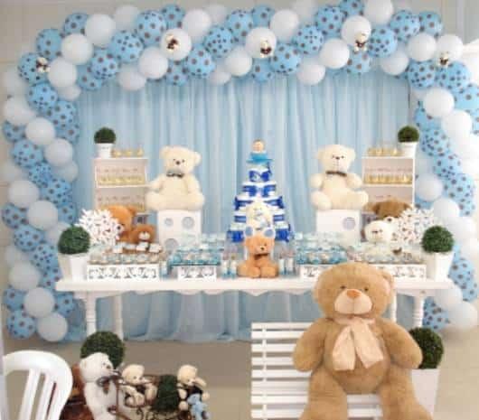 decoração com ursos