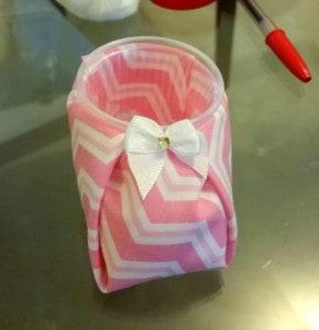 modelo de tecido rosa