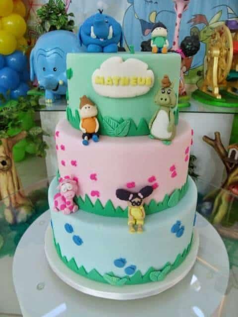 bolo festa Meu Amigãozão fotos