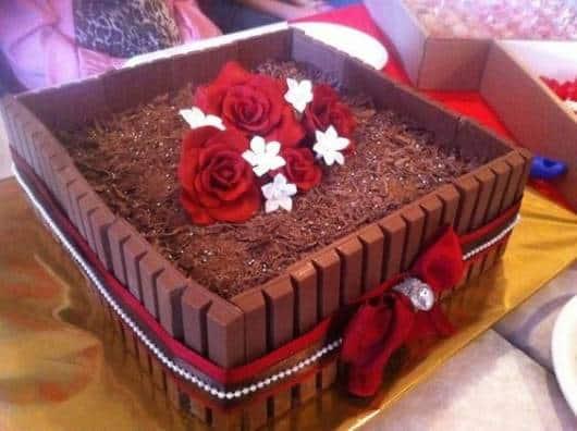 Festa 15 anos vermelha