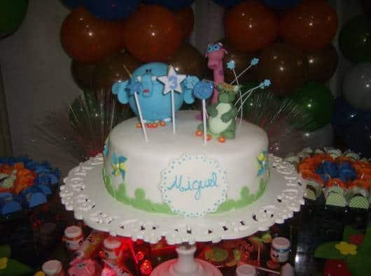bolo para festa Meu Amigãozão
