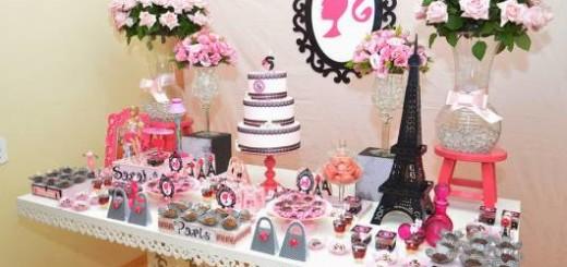 festa da barbie paris decoração