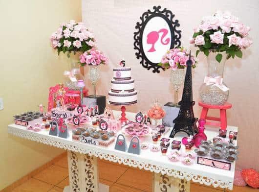 decoracao festa barbie : decoracao festa barbie:Festa Barbie Paris: 25 fotos lindas e dicas de decoração!
