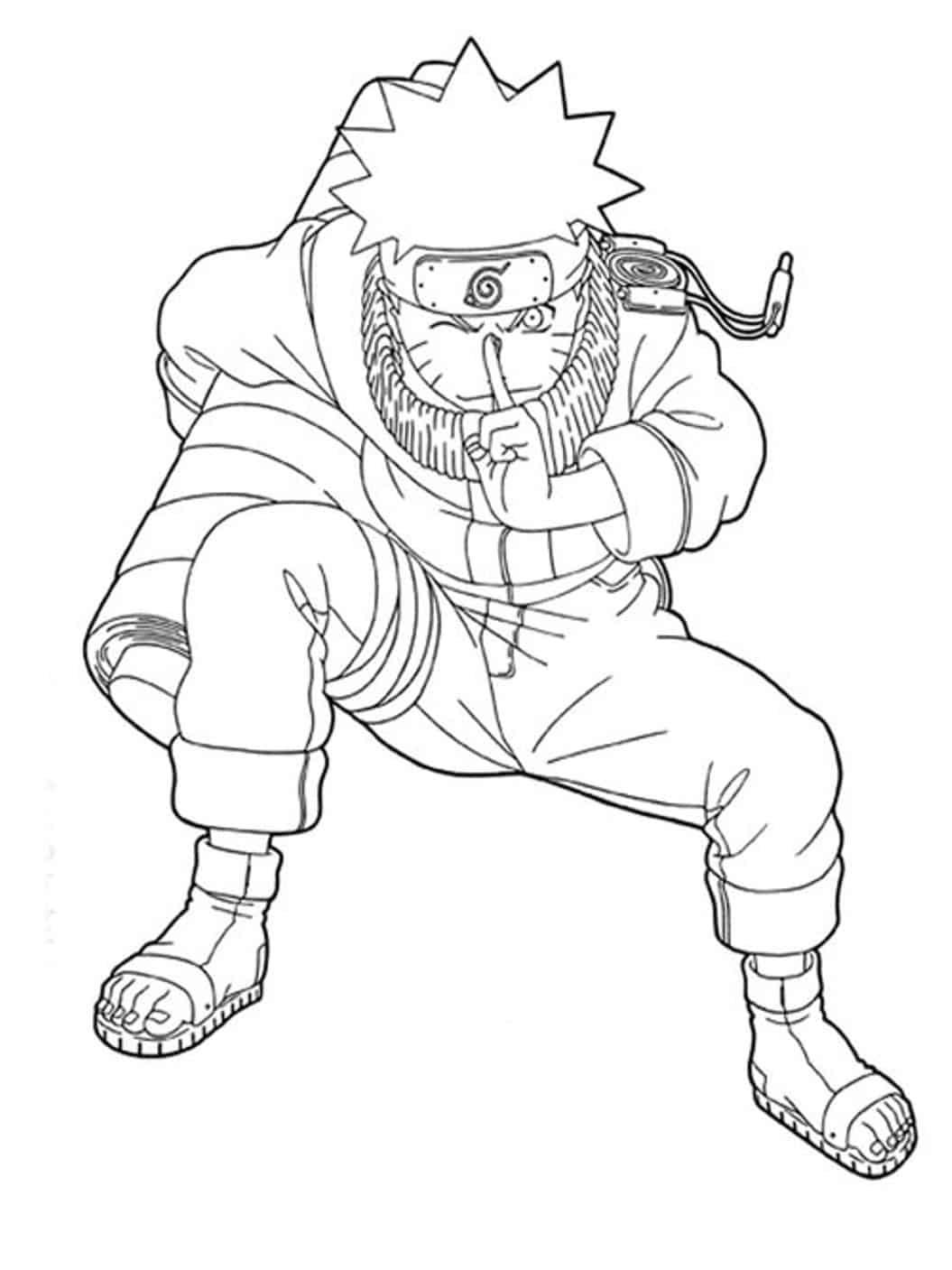 Desenhos Para Colorir Do Naruto 40 Opcoes Para Imprimir