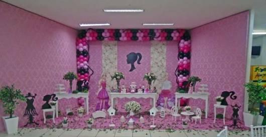 mesa provençal festa barbie paris