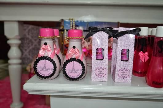 lembranças para festa Barbie Paris adolescente