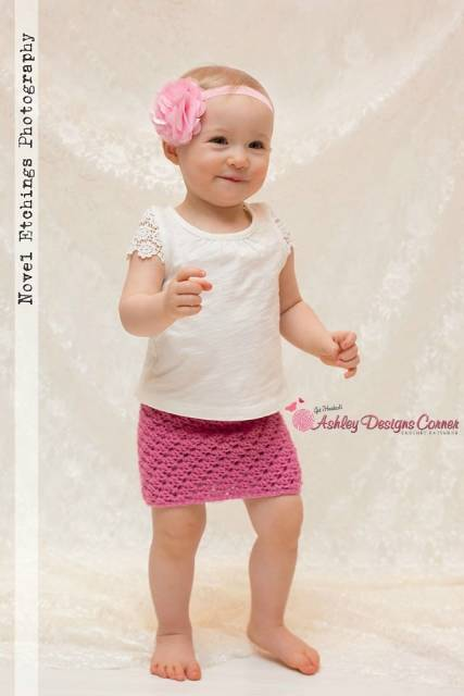 tiara de flor bebê