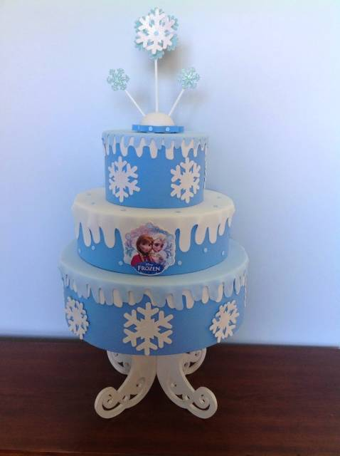 decoração Anna e Elsa